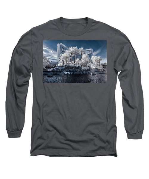The Mirage In Infrared 2 Long Sleeve T-Shirt