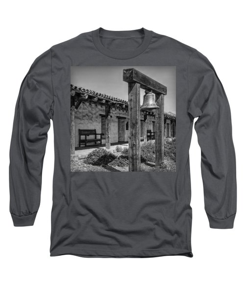 The Mission Bell B/w Long Sleeve T-Shirt