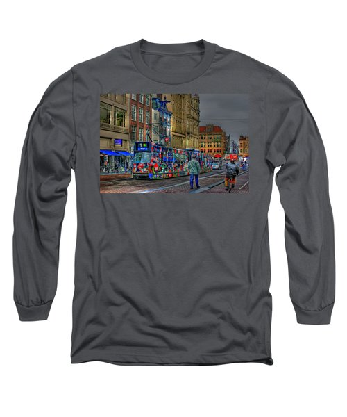 Long Sleeve T-Shirt featuring the photograph The Morning Rhythm by Ron Shoshani