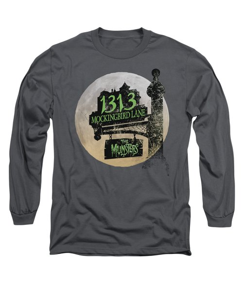 The Munsters - Moonlit Address Long Sleeve T-Shirt