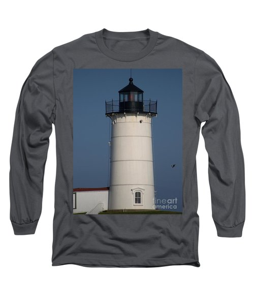 Long Sleeve T-Shirt featuring the photograph Lighthouse by Eunice Miller