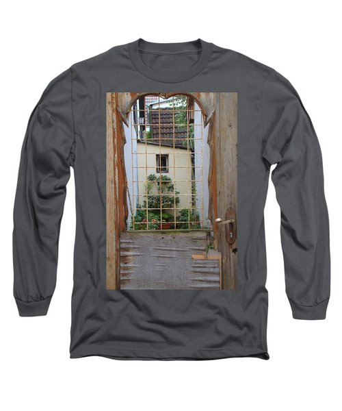 Memories Made Beyond This Old Door Long Sleeve T-Shirt