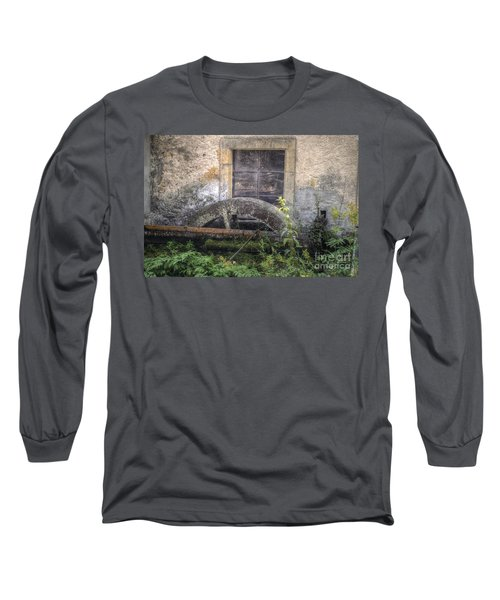 The Old Mill Long Sleeve T-Shirt by Michelle Meenawong