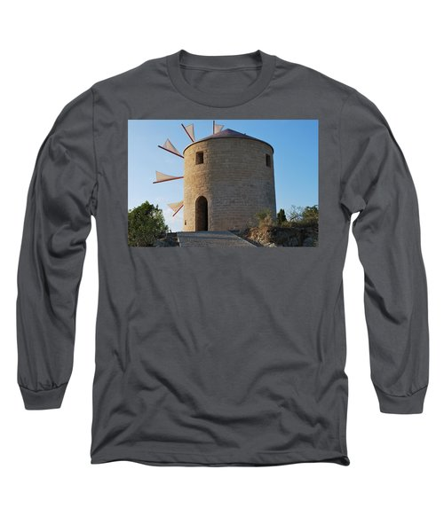 The Old Windmill 1830 Long Sleeve T-Shirt