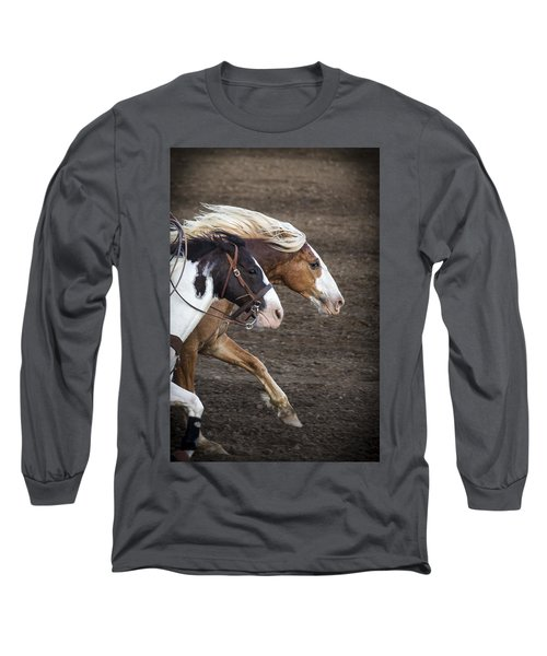 The Outlaw And The Law Long Sleeve T-Shirt by Caitlyn  Grasso