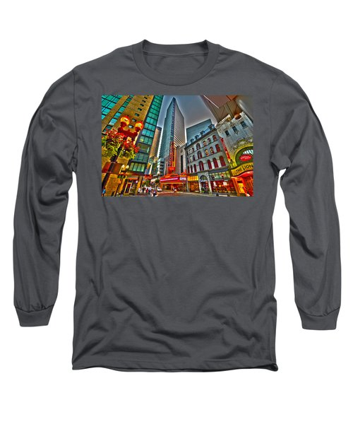 The Paramount Center And Opera House In Boston Long Sleeve T-Shirt