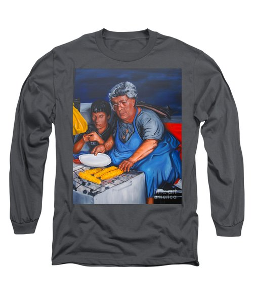 The Parga Corn Seller Long Sleeve T-Shirt