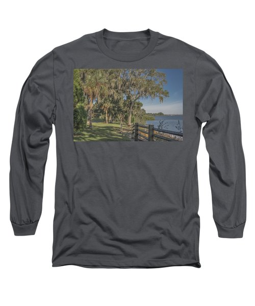 Long Sleeve T-Shirt featuring the photograph The Park by Jane Luxton