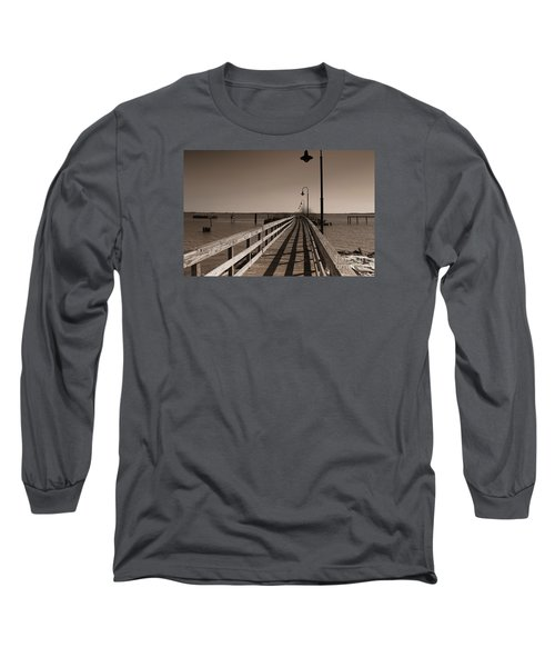 The Pier Long Sleeve T-Shirt by David Jackson