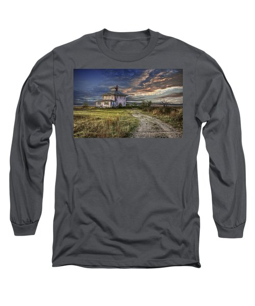 The Pink House - Color Long Sleeve T-Shirt