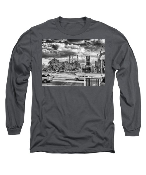 Long Sleeve T-Shirt featuring the photograph The Power Station by Howard Salmon