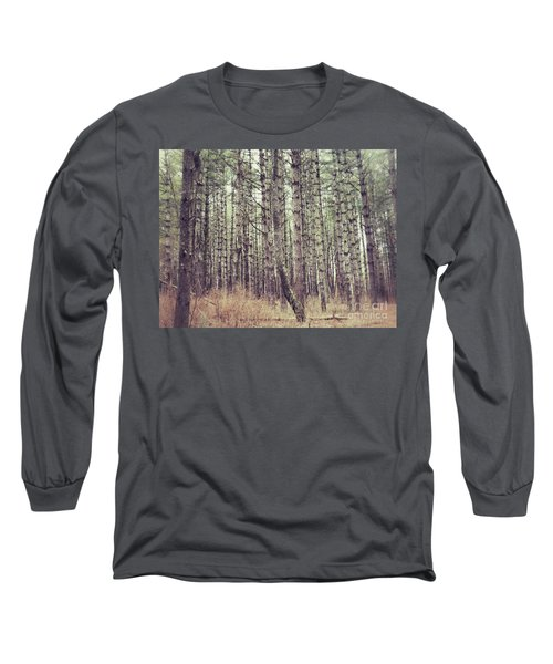 The Preaching Of The Pines Long Sleeve T-Shirt by Kerri Farley