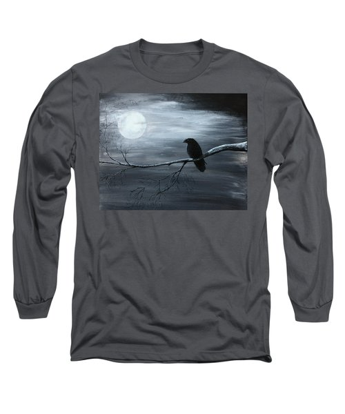 The Raven Piece 2 Of 2 Long Sleeve T-Shirt