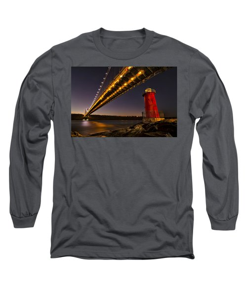 The Red Little Lighthouse Long Sleeve T-Shirt