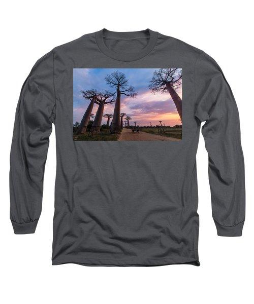The Road To Morondava Long Sleeve T-Shirt
