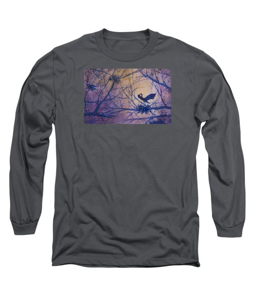 The Rookery Revisited Long Sleeve T-Shirt by Lee Beuther