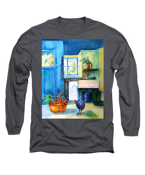 The Scullery  Long Sleeve T-Shirt by Trudi Doyle