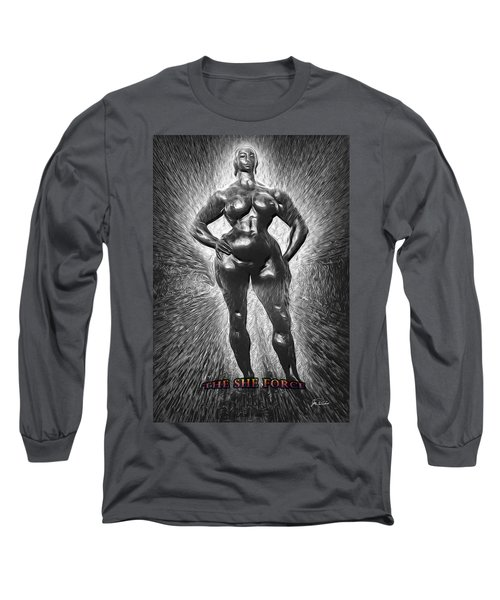 The She Force 1 Long Sleeve T-Shirt