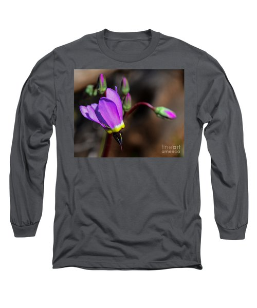 The Shooting Star Wildflower Long Sleeve T-Shirt