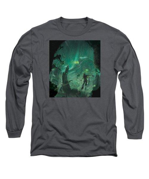 The Sleeper Below Long Sleeve T-Shirt