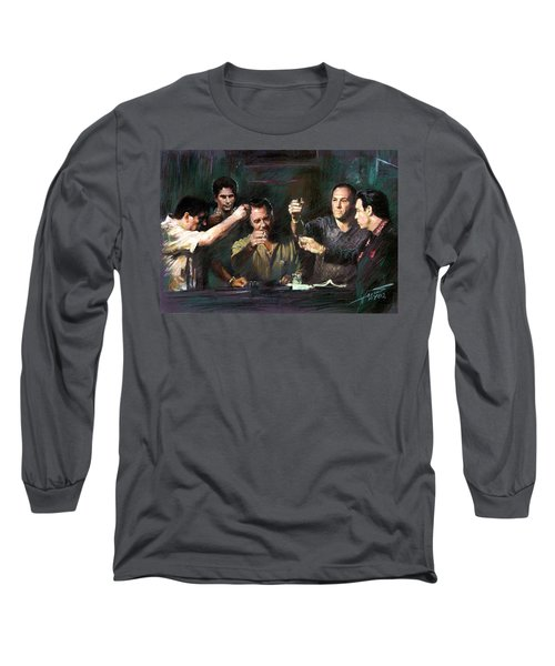 The Sopranos Long Sleeve T-Shirt by Viola El