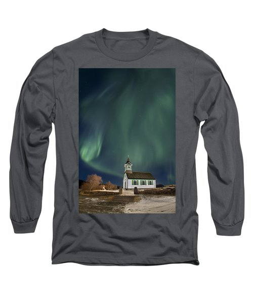 The Spirit Of Iceland Long Sleeve T-Shirt