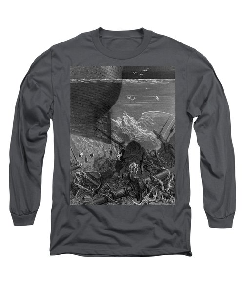 The Spirit That Had Followed The Ship From The Antartic Long Sleeve T-Shirt