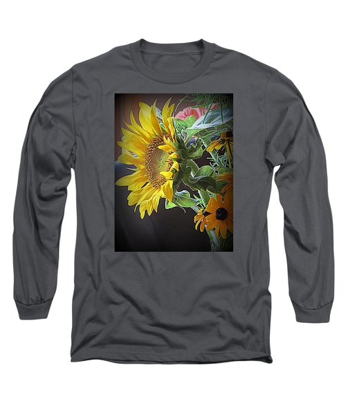 The Standout  Long Sleeve T-Shirt by Kay Novy