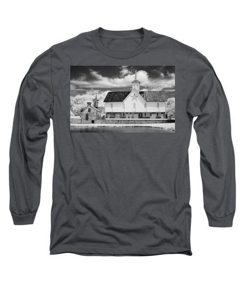 The Star Barn - Infrared Long Sleeve T-Shirt by Paul W Faust -  Impressions of Light