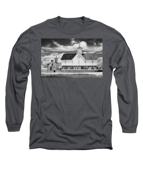 The Star Barn - Infrared Long Sleeve T-Shirt