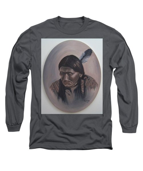 The Story Teller Long Sleeve T-Shirt by Michael  TMAD Finney