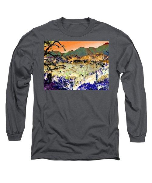 The Surreal Desert Long Sleeve T-Shirt