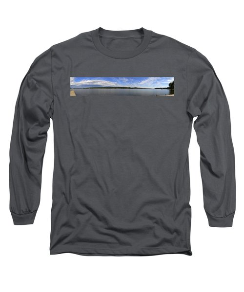 The Tennessee River In Alabama Long Sleeve T-Shirt by Verana Stark