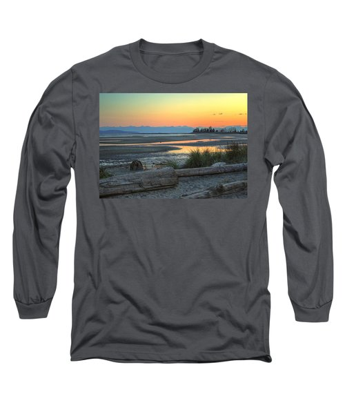 The Tide Is Low Long Sleeve T-Shirt by Randy Hall