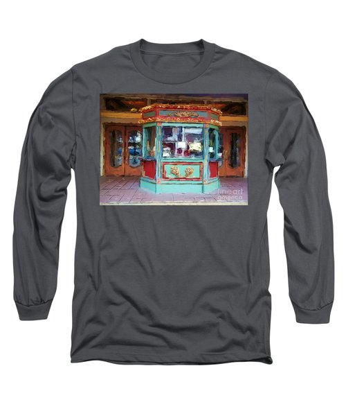Long Sleeve T-Shirt featuring the photograph The Tivoli Theatre by Kelly Awad