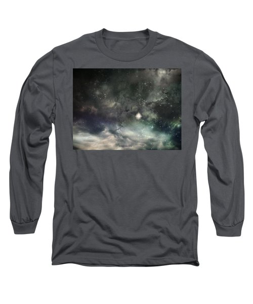 The Universe Long Sleeve T-Shirt by Cynthia Lassiter