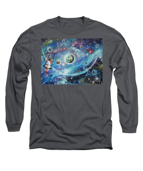 The Universe Is My Playground Long Sleeve T-Shirt