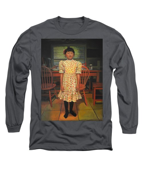 The Valentine Dress Long Sleeve T-Shirt by Thu Nguyen