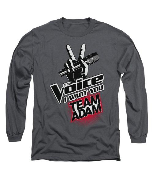 The Voice - Team Adam Long Sleeve T-Shirt