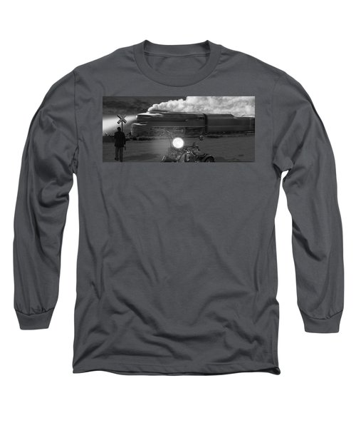 The Wait - Panoramic Long Sleeve T-Shirt
