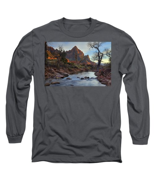 The Watchman In Winter-2 Long Sleeve T-Shirt