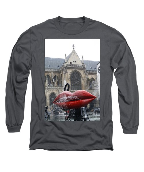 The Wet Kiss Long Sleeve T-Shirt