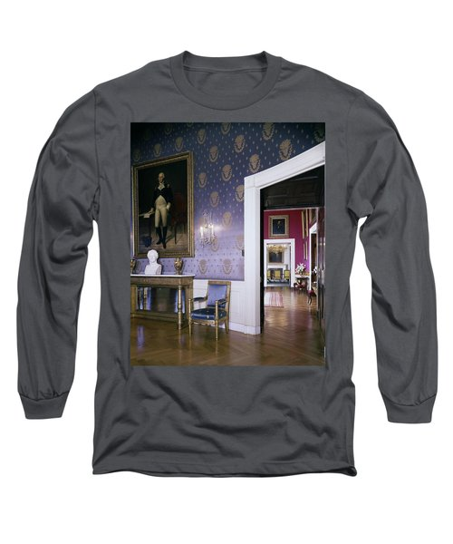 The White House Blue Room Long Sleeve T-Shirt
