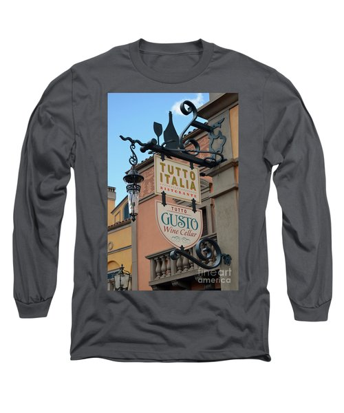 Long Sleeve T-Shirt featuring the photograph The Wine Cellar by Robert Meanor