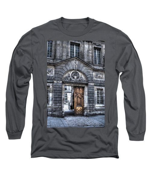 The Wooden Door Long Sleeve T-Shirt