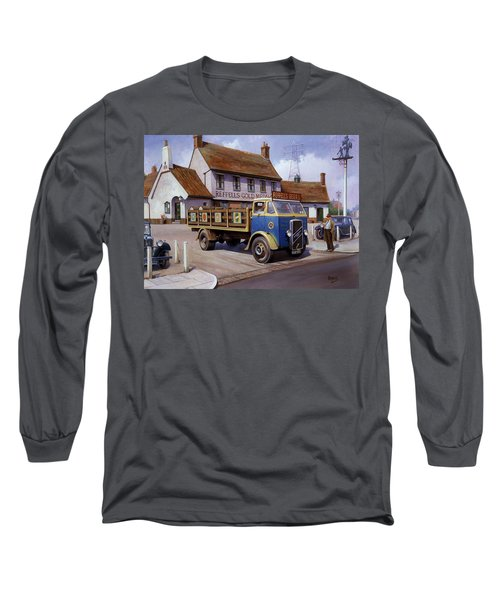 The Woodman Pub. Long Sleeve T-Shirt