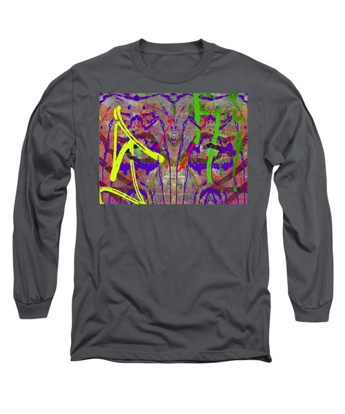 The Writing On The Wall 14 Long Sleeve T-Shirt by Tim Allen