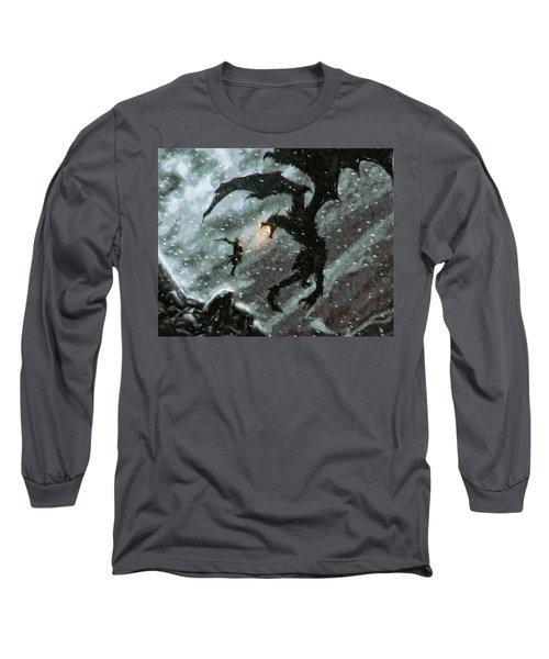 There Is No Fear Long Sleeve T-Shirt by Joe Misrasi
