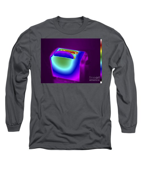 Thermogram Of A Toaster Long Sleeve T-Shirt