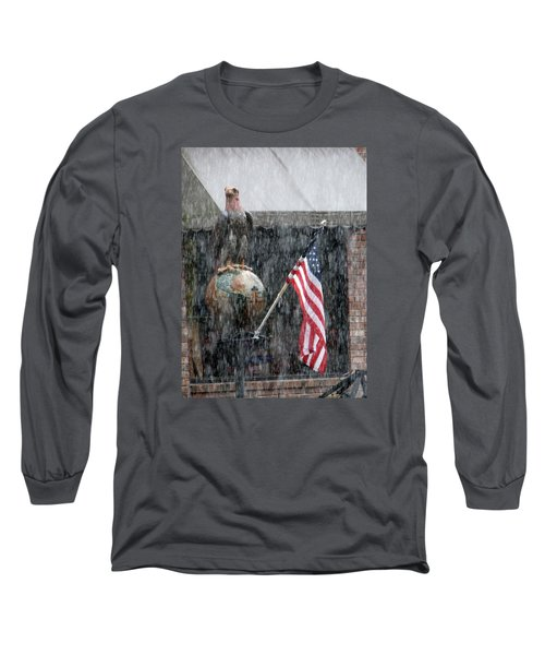 Long Sleeve T-Shirt featuring the photograph These Colors Dont Run by John Glass